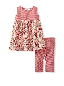 Jupon Baby Gemma Tunic & Leggings Set (Red)