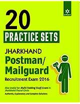 20 Practice Sets Jharkhand Postman/Mailguard Recruitment Exam 2016