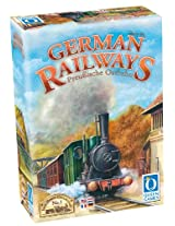 German Railways Multi Language Board Game
