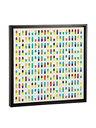 Modern Art 10 Capsules Canvas Print