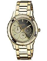 DKNY Analog Gold Dial Women's Watch - NY2118