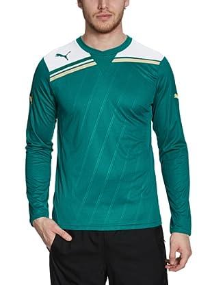 Puma Longsleeve King (team green-white)