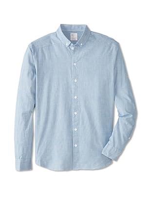 Jean Machine Men's Bank Woven Shirt (Deck)