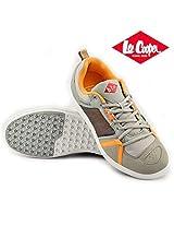 Lee Cooper Men's Sports Shoe 3535-grey/orange