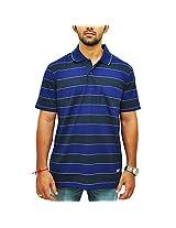 Duke Men Stripe Trendy Polo T-shirt By ReturnfavorsXXL