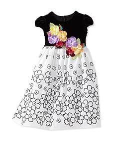 C'est Chouette Couture Girl's Fantasia Dress (Multi)