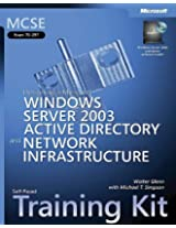 MCSE Self-Paced Training Kit (Exam 70-297): Designing a Microsoft® Windows Server(TM) 2003 Active Directory® and Network Infrastructure