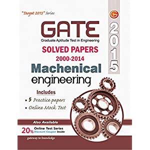 GATE Paper Mechanical Engg 2015 (Solved Papers 2000-2014)