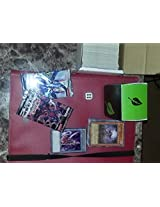 Yugioh! The Ultimate Lot! Dice,Token, Starter Deck,Deckbox,Binder,200 Card Lot With 20 Holos