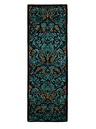 Darya Rugs Arts & Crafts Rug, Black, 2' 8