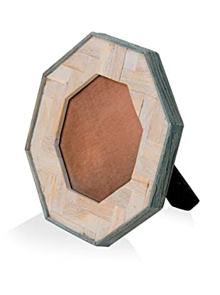 Shine by S.H.O. Lana Octagonal Frame (Antique Elm/Pale Ocean)