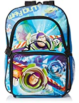 Disney Boys' Toy Story Deluxe Backpack with Lunch Kit