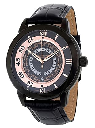 STÜRLING ORIGINAL 118B.335541 - Reloj de Caballero movimiento de cuarzo con correa de piel