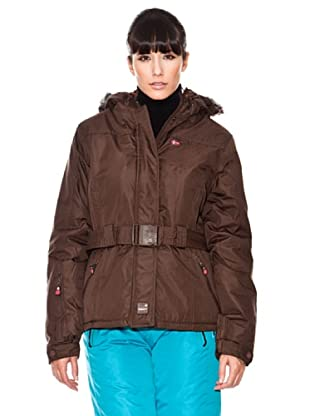 Geographical Norway / Anapurna Anorak Amelie (marrón oscuro)