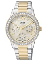 Citizen Analog Mother of Pearl Dial Women's Watch ED8094-52N