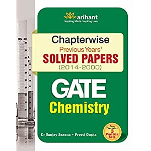 Chapterwise Gate Chemistry Solved Papers(2014 - 2000) (Old Edition)