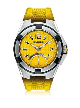 K&BROS Reloj 9440 (Amarillo)