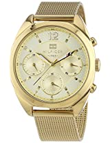 Tommy Hilfiger Gold Dial Analogue Watch for Women (TH1781488J)