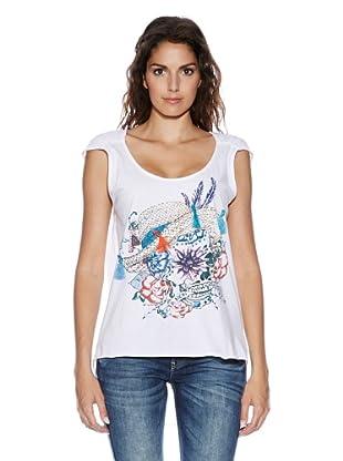 Fuga Camiseta Isabella (Blanco)