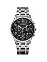 Swiss Military Hanowa Patriot Mens Stainless Steel Chronograph Watch