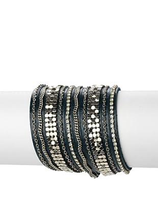 Presh 5-Strand Metal Chain Bracelet, Twilight