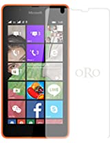 ORO Tempered Glass Screen Guard / Screen Protector Guard For Microsoft Lumia 540