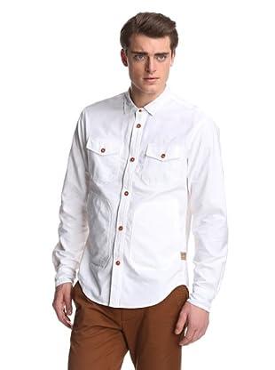PRPS Goods & Co. Men's Oxford Shirt (White)