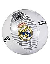 Adidas Real Madrid Football, Size 5 (Dark Marine/Intense Blue)