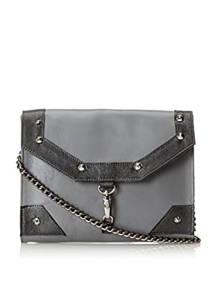 JJ Winters Women's Kate Cross-Body with Buckle, Grey