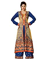 New Designer and Party wear blue Salwar Suit FA230-9009
