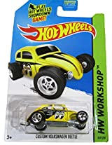 Mattel Hot Wheels - 2014 Hw Workshop - Hw Performance - Custom Volkswagen Beetle