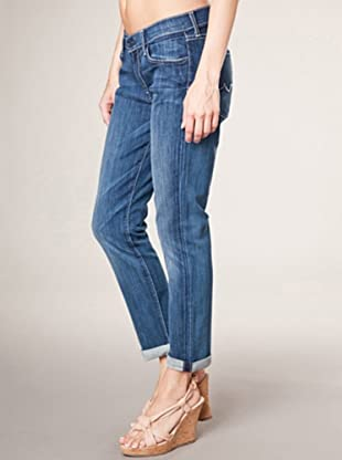 7 for all Mankind 3/4 Jeans Crop Josefina Adara Night Regular Fit (Blau Denim)