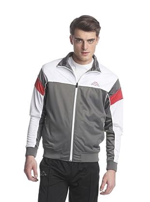 Kappa Men's DDU Jacket (Grey/White)