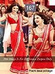 Indian Designer Bollywood Replica Actress Prachi Red Bridal Saree 167