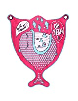 Tribord Splizer-Print-Mama Youth Bodyboard/Surfboard Pink