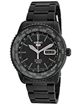 Seiko 5 Sports Analog Black Dial Men's Watch - SRP129K1