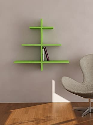 Decortie by Homemania Estante Albero (Verde)