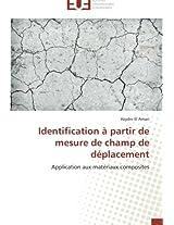 Identification a Partir de Mesure de Champ de Deplacement (Omn.Univ.Europ.)