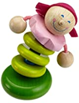 HABA Rosella Wooden Rattle (Made in Germany)