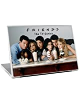 Zing Revolution Friends The TV Series Premium Vinyl Adhesive Skin for 13-Inch Laptop (ms-frnd110010)