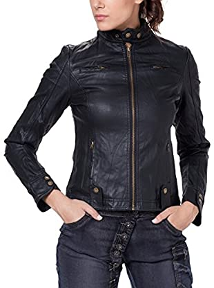 Tantra Chaqueta Solid with Zipper and Pockets