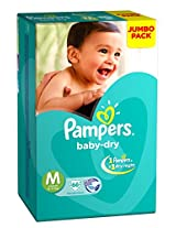 Pampers Medium Size Diapers (66 Count)