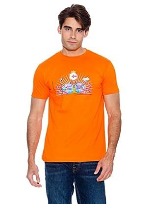 Kukuxumusu Camiseta Dep. Coruña (Naranja)