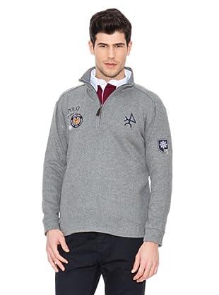 Valecuatro Sweater Cremallera Jugador (Gris)