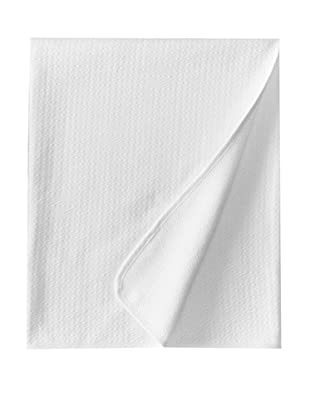 Coyuchi Subtle Diamond Matelasse Coverlet (White)