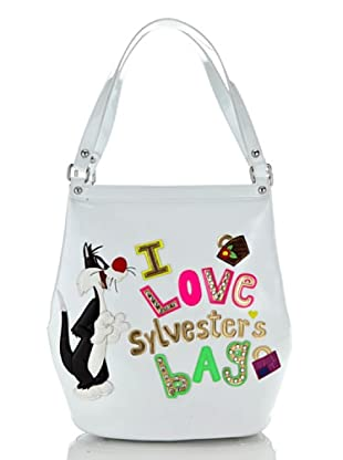 Looney Tunes Shopping Lovely bianco