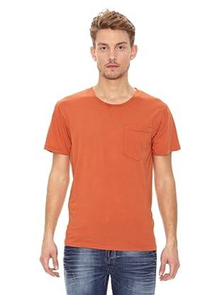 Nudie Jeans Camiseta Básica (Naranja)