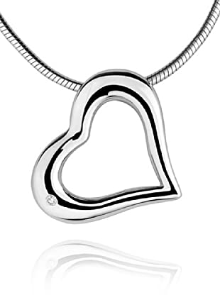 Secret Diamonds 60250001 - Colgante de mujer de plata de ley con 1 diamante