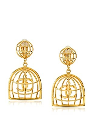 CHANEL Cage Earrings