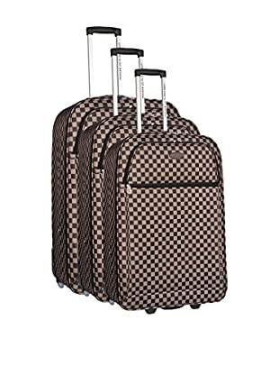 COMPAGNIE DU BAGAGE Set de 3 trolleys semirrígidos